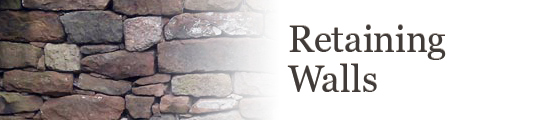 View the Ross Bros Retaining Wall Gallery