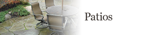 View the Ross Bros Patio Gallery
